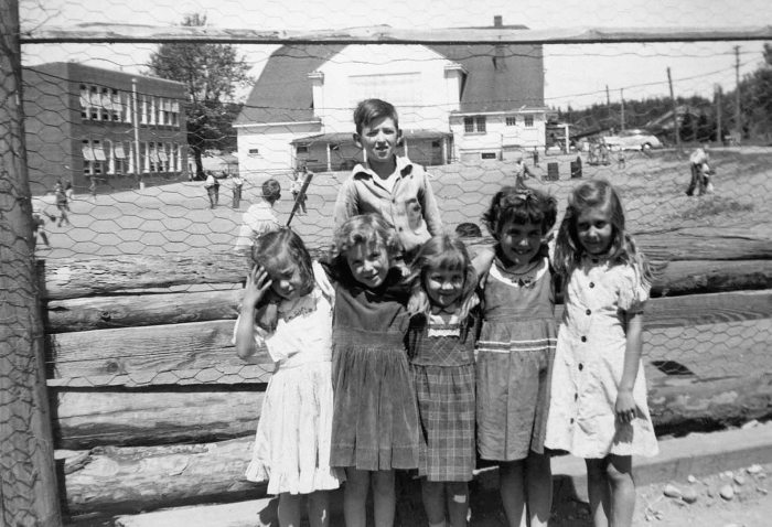 p073b-Wd School & Gym 1950